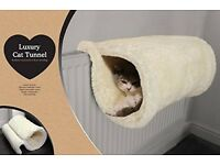 Luxury cat bed/tunnel