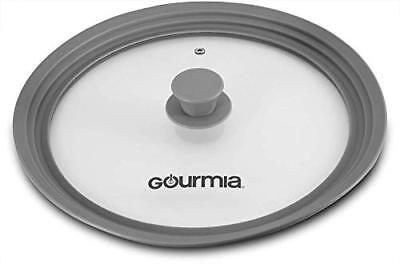 Gourmia GPL9370 Universal Lid for Pots, Pans and Skillets – Tempered Glass Glass Pot Lids