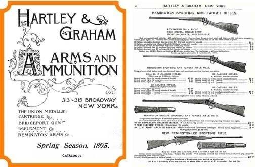 Hartley & Graham 1885 Gun Catalog (New York)
