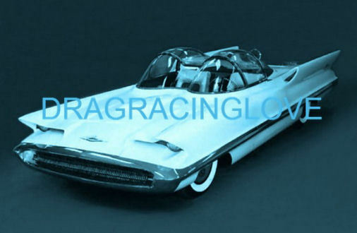 "Lincoln ""Futura"" Concept Car George Barris used for ""Batmobile"" 8x10 PHOTO! (#2)"