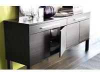 Sideboard IKEA new, black/ brown