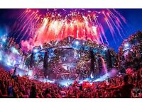 Tomorrowland 1x tickets (Full Madness Pass). Jul 21 - Jul 24 with Magnificent Garden Camping