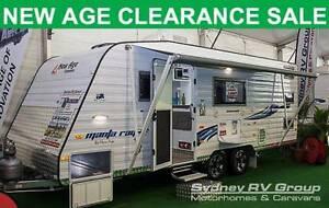 A30464 New Age Manta Ray 19BC Family Van, Triple Bunks Penrith Penrith Area Preview
