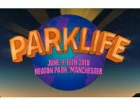 Parklife VIP weekend ticket x 1