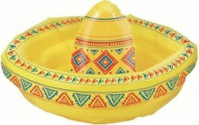 INFLATABLE SOMBRERO COOLER DRINK BAR SPA POOL DECORATION PARTY HAT MEXICAN (Sombrero Cooler)