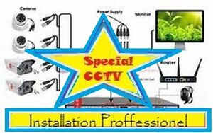 Securite Security Camera  CCTV  Installation Commercial