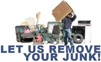 We will take your junk away to the dump for you.