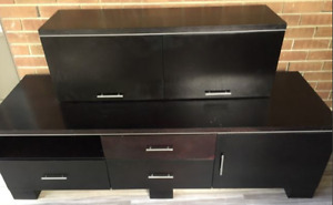 TV Stand/ Floating Cabinet $60 -Excellent Condition