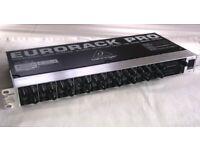 Behringer 16 input line mixer