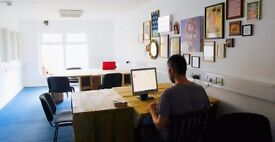 Desk space available within creative workspace, seven sisters, tottenham
