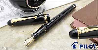 Pilot Namiki Custom 74 Black MUSIC nib 14k Gold MS nib(two slits) Fountain Pen