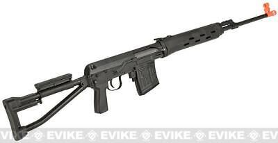 1//6 Scale Silver Russian SVD Dragunov Sniper Rifle Assembled Gun Weapon Model