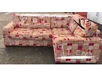 Compact Corner Sofa - Good Condition