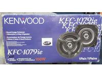 Kenwood 100 watt stereo 4 Way speakers NEW