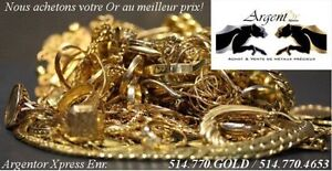 ACHAT VENTE OR ARGENT MONNAIE BIJOUX WE BUY GOLD SILVER JEWELRY