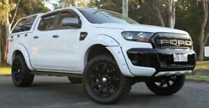 2016 Ford Ranger PX MkII XLS Double Cab White 6 Speed Sports Automatic Utility Southport Gold Coast City Preview
