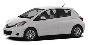 2012 Toyota Yaris SE  No accidents, low kms, Hatchback