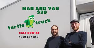 Man  Van or Truck/Furniture Removals Melbourne CBD Melbourne City Preview