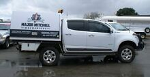2013 Holden Colorado  White 5 Speed Manual Utility Bellevue Swan Area Preview