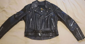 Bristol Classic Motorcycle/Biker Leather Jacket