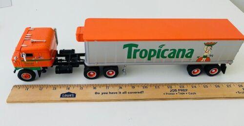 Tropicana 18 Wheeler Truck.