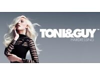 TONI AND GUY FREE CUT AND BLOWDRY AND DISCOUNTED COLOUR