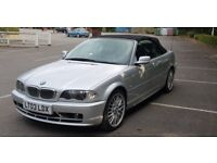 BMW 3 Series 325CI Automatic Convertible 2494cc - MOT until June 2019