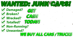 $$$ junk and scrap car removal free tow & pay you cash $$$