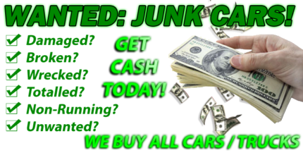 INSTANT CASH FOR ANY CAR!
