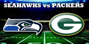 Seahawks vs. Packers tickets