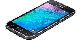 Brand New Samsung Galaxy Black J1 2016 Dual Micro Sim J120H/DS 3G 8GB Unlocked 5MP Camera