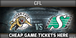 BEST TICKETS ★★ Tiger-Cats vs.Roughriders THU Jul 19 7:30PM ★★