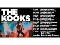 2 TICKETS TO THE KOOKS BRISTOL COLSTON HALL TUESDAY 2ND OF MAY
