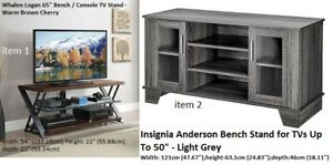 "whalen / Insignia Tv stand , Tv trolly, Tv bench Tv's up 65""/50"""
