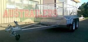 Tandem Trailer 8x5 Box Trailer Heavy Duty Hot Dip Gal. Brisbane Region Preview