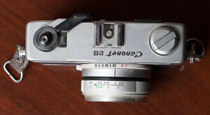 Canon Rangefinders QL19, QL17 G-iii and Canonet 28 film cameras