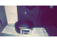 Brand new Genuine Dior Homme Belt