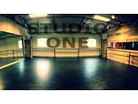 Available NOW Dance studio