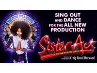 2 x tickets sister act Manchester Friday 2nd September Best seats