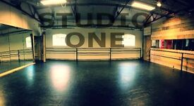 Dance/Fitness studio for hire