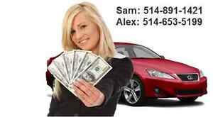 We buy auto all models 514-891-1421