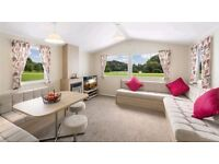 Static 12ft wide holiday home for sale at 5* Lancashire park