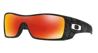 Oakley Batwolf Matte Black Camo Prizm Ruby Polarized