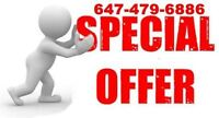 Air Duct Cleaning $100 Flat Rate Special Offer 647-479-6886