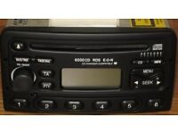 CD player / Radio FM/AM ford Focus mk 4 with keycode Good working order