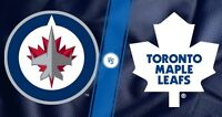 1 Pair of tickets Jets vs Leafs 12/02/15