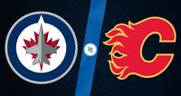 Winnipeg Jets  VS Flames, 22 December, Great 2nd Bowl Seats