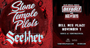 A Pair Of Stone Temple Pilots & Seether Tickets