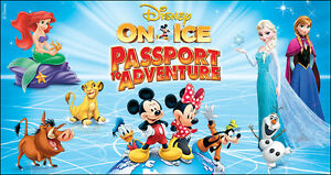 Disney on Ice Tickets ~ two tickets
