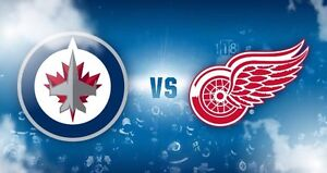 Jets vs Red Wings